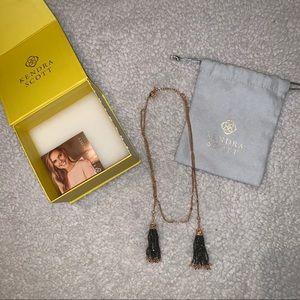 Kendra Scott Monique Tassel Necklace